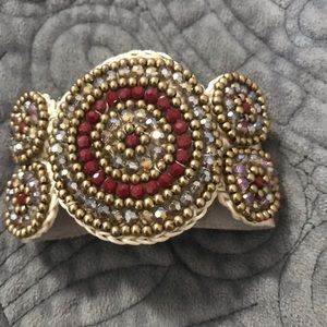 Jewelry - Stunning Beaded Cuff
